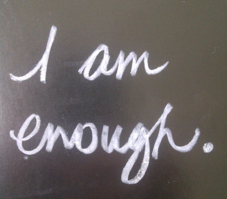 Image result for you are enough